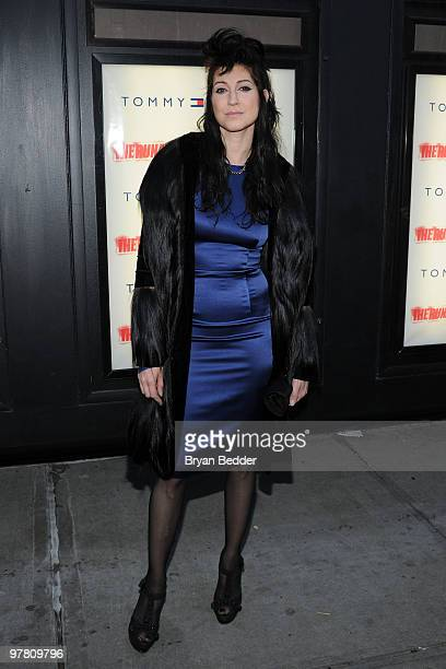 Writer and director Floria Sigismondi attends the premiere of The Runaways at Landmark Sunshine Cinema on March 17 2010 in New York City
