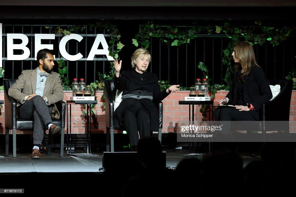 Tribeca Talks: Kathryn Bigelow & Imraan Ismail - 2017 Tribeca Film Festival : Nachrichtenfoto