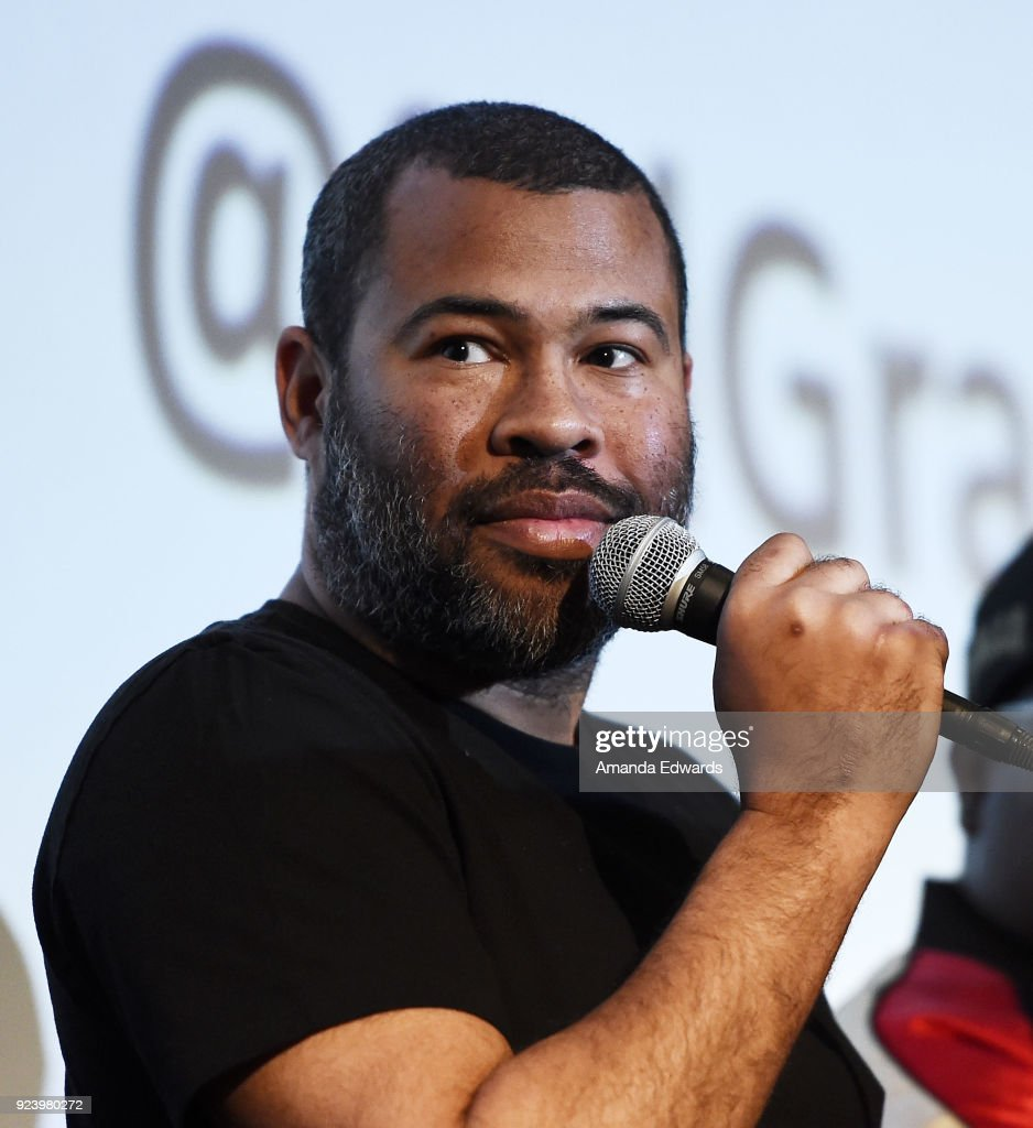 Writer and director Jordan Peele attends the Aero Theatre's special screening and Q&A of 'Get Out' at the Aero Theatre on February 24, 2018 in Santa Monica, California.