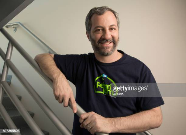 Writer and director Judd Apatow is photographed for Los Angeles Times on December 1 2017 in Los Angeles California PUBLISHED IMAGE CREDIT MUST READ...
