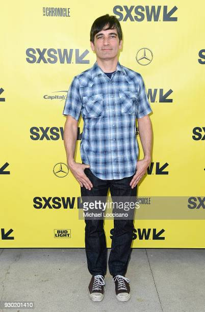 Writer and director Michael Tully attends the Don't Leave Home premiere during the 2018 SXSW Conference and Festivals at the ZACH Theatre on March 10...