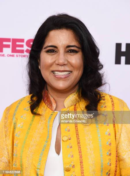 Writer and director Nisha Ganatra arrives at the 2019 Outfest Los Angeles LGBTQ Film Festival Closing Night Gala Premiere of Before You Know It at...