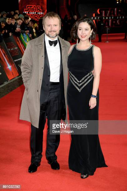 Writer and director Rian Johnson attends the European Premiere of 'Star Wars The Last Jedi' at Royal Albert Hall on December 12 2017 in London England