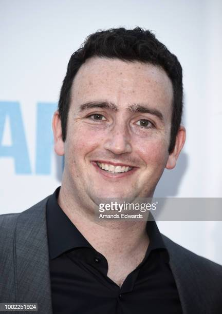 Writer and director Tyler Spindel arrives at a special screening of Netflix's 'Father Of The Year' at ArcLight Hollywood on July 19 2018 in Hollywood...