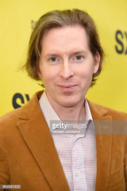 Writer and director Wes Anderson attends the Isle of Dogs premiere during the 2018 SXSW Conference and Festivals at Paramount Theatre on March 17...