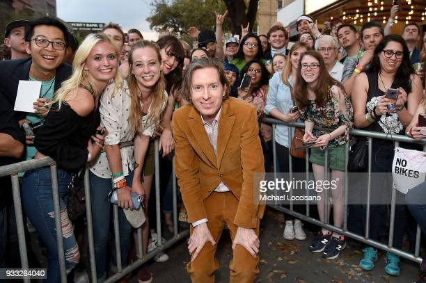 Writer and director Wes Anderson attends the 'Isle of Dogs' premiere during the 2018 SXSW Conference and Festivals at Paramount Theatre on March 17...