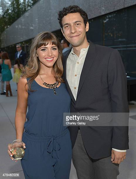 Writer and executive producer Joelle Garfinkel and producer Nick Smoke attend the screening party for the new original web series CAM GIRLS at United...