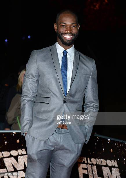 Writer and executive producer Tarell Alvin McCraney attends the 'Moonlight' Official Competition screening during the 60th BFI London Film Festival...