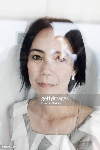 Writer and film director Naomi Kawase is photographed on May 24 2017 in Cannes France