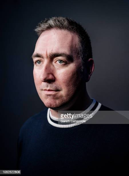 Writer and film director Steve Sullivan is photographed at the BFI London Film Festival on October 18 2018 in London England