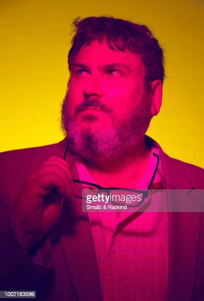Writer and Harley Quinn CoCreator Paul Dini from DC's 'Batgirl/DC Beach Blanket Bad Guys Special' poses for a portrait in the Getty Images Portrait...