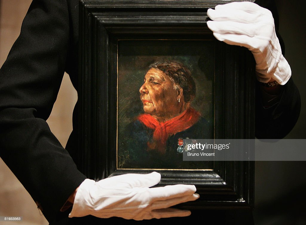 Lost Portrait Of Mary Seacole Unveiled At National Portrait Gallery : ニュース写真