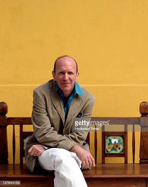 Writer and Historian Simon Sebag Montefiore at DSC DSC Jaipur Literature Festival on January 23 2012 in Jaipur India Author of highly acclaimed...