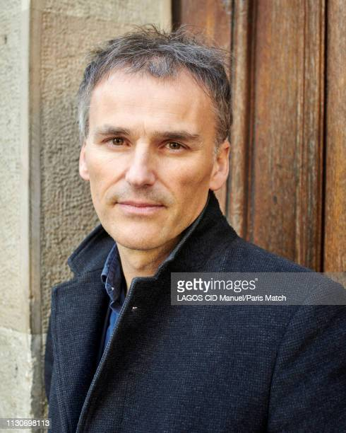 Writer and journalist FrancoisGuillaume Lorrain is photographed for Paris Match in Paris on February 26 2019