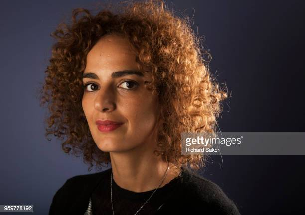 Writer and journalist Leila Slimani is photographed for the Observer on January 16 2018 in London England
