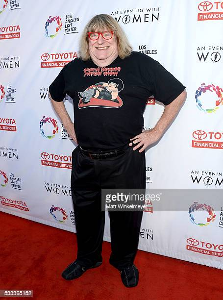 Writer and LOs Angeles LGBT Center board member Bruce Vilanch attends An Evening with Women benefiting the Los Angeles LGBT Center at the Hollywood...