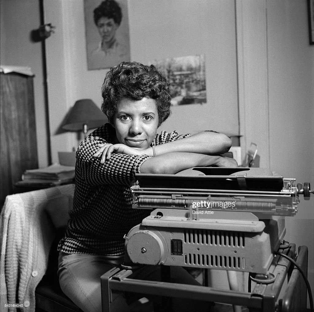 Lorraine Hansberry Portrait Session : News Photo