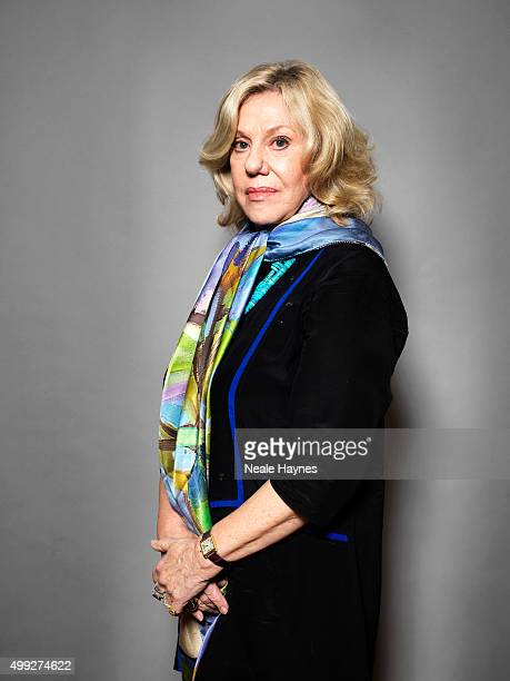 Writer and poet Erica Jong is photographed for the Daily Mail on October 26 2015 in London England Photo by Neale Haynes/Contour by Getty Images