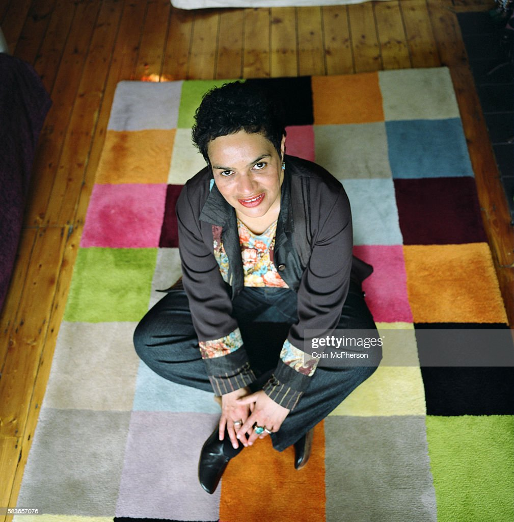 Writer and poet Jackie Kay, photographed at her home in Manchester, England. Jackie Kay is a Nigerian-born Scot who has published several volumes of poetry and appears regularly at international literary events.
