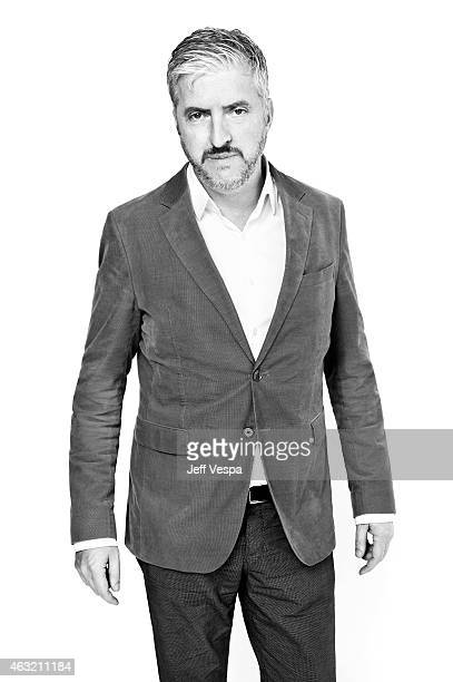 Writer and producer Anthony McCarten poses for a portraits at the 87th Academy Awards Nominee Luncheon at the Beverly Hilton Hotel on February 2 2015...
