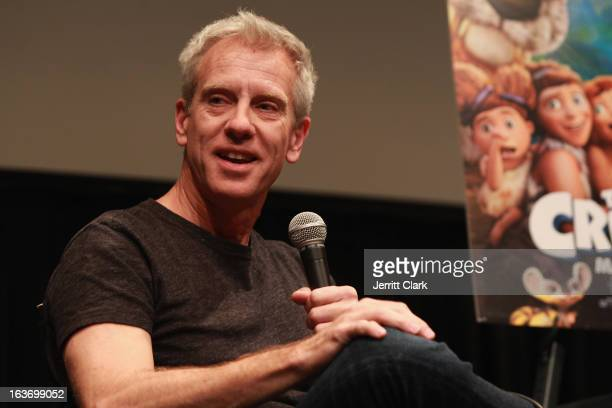Writer and Producer Chris Sanders attends 'The Croods' screening at The Film Society of Lincoln Center Walter Reade Theatre on March 13 2013 in New...