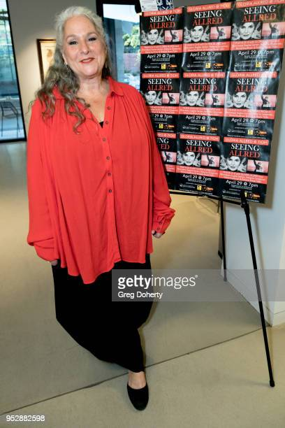 Writer and Producer Marta Kauffman attends the screening of 'Seeing Allred' at the 2018 Los Angeles Jewish Film Festival on April 29 2018 in...