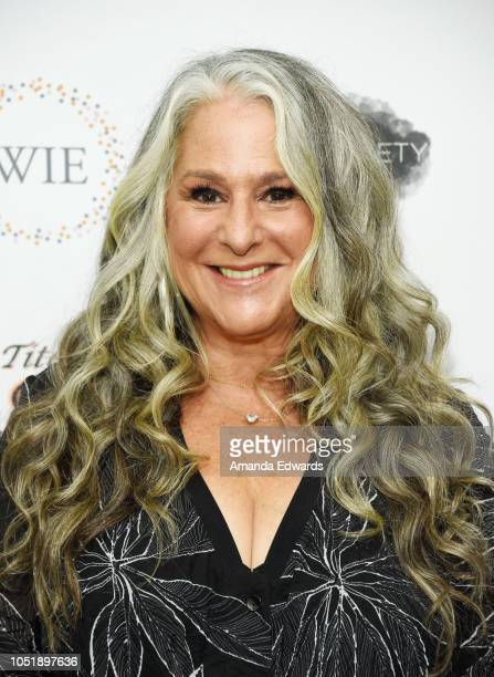 Writer and producer Marta Kauffman attends the Women In Entertainment's 4th Annual Summit at the Skirball Cultural Center on October 11 2018 in Los...