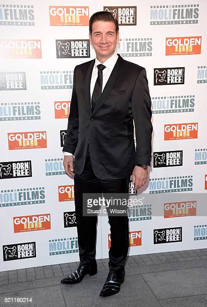Writer and producer Nick Knowles attends the UK film premiere of 'Golden Years' at the Odeon Tottenham Court Road on April 14 2016 in London England