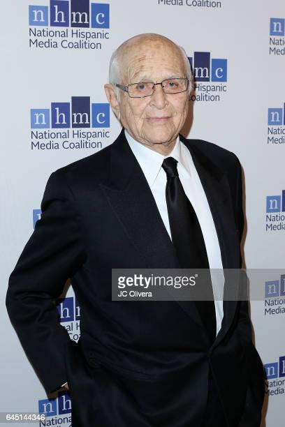 Writer and producer Norman Lear attends the 20th Annual National Hispanic Media Coalition Impact Awards Gala at Regent Beverly Wilshire Hotel on...