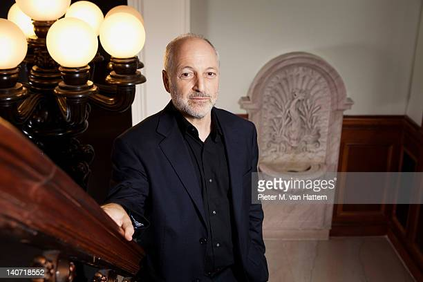 Writer and professor Andre Aciman photographed for Poets Writers on September 7 2011 in New York City