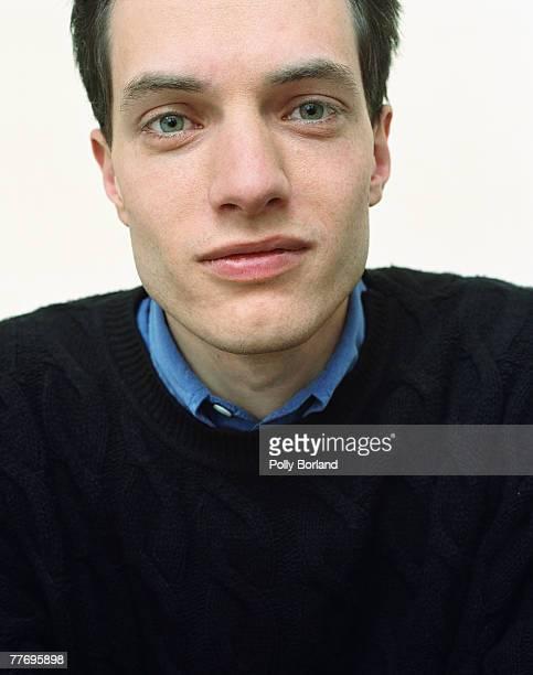 Writer and television producer Alain de Botton circa 1995
