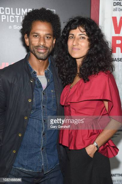 Writer and TV personality Touré and Rita Nakouzi attend the New York Special Screening of 'White Boy Rick' at the Paris Theater on September 12 2018...