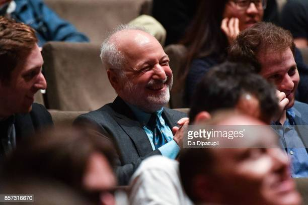 Writer Andre Aciman attends a screening of 'Call Me by Your Name' during the 55th New York Film Festival at Alice Tully Hall on October 3 2017 in New...