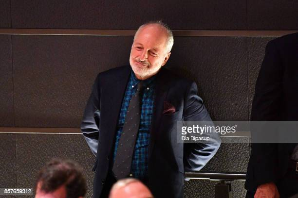 Writer Andre Aciman attends NYFF Live Making 'Call Me by Your Name' during the 55th New York Film Festival at Elinor Bunin Munroe Film Center on...