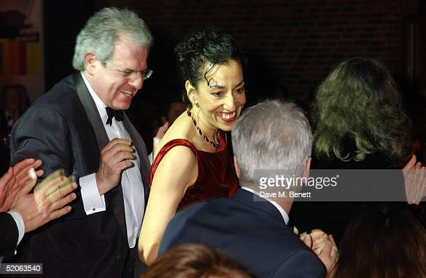 Writer Andrea Levy attends the afterparty following the Whitbread Book Awards 2004 at the The Brewery on January 25 2005 in London The annual awards...