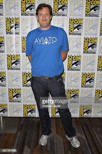 Writer Andrew Kreisberg attends the 'Arrow' press room at ComicCon International on July 26 2014 in San Diego California