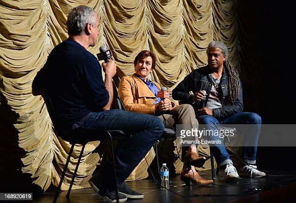 Writer Andrew Lane director Martha Coolidge and Film Independent At LACMA Film Curator Elvis Mitchell attend the Film Independent At LACMA 30th...