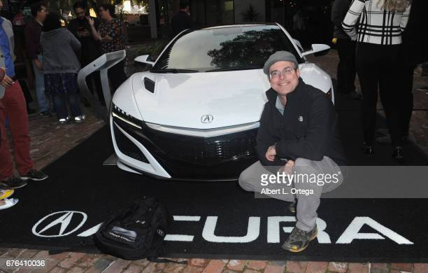 Writer Andy Weir at The WOZ Party Meet and Greet with Silicon Valley Comic Con Founder Steve Wozniak held at SP2 Communal Bar Restaurant on April 22...