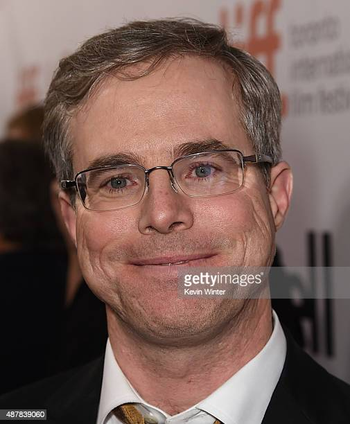 Writer Andy Weir attends 'The Martian' premiere during the 2015 Toronto International Film Festival at Roy Thomson Hall on September 11 2015 in...
