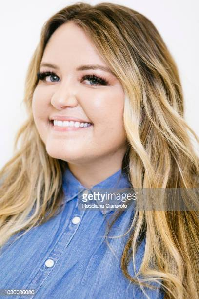 Writer Anna Todd poses on September 9 2018 in Milan Italy