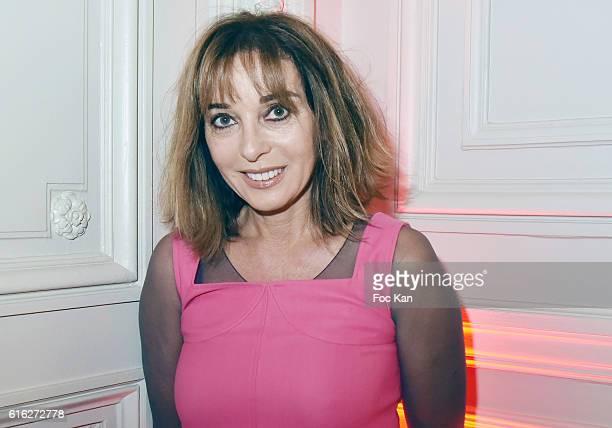 Writer Anna Veronique El Baze attends 'Le Bal Jaune 2016' Dinner Party At Hotel Salomon de Rothschild As part of FIAC 2016 International Contemporary...
