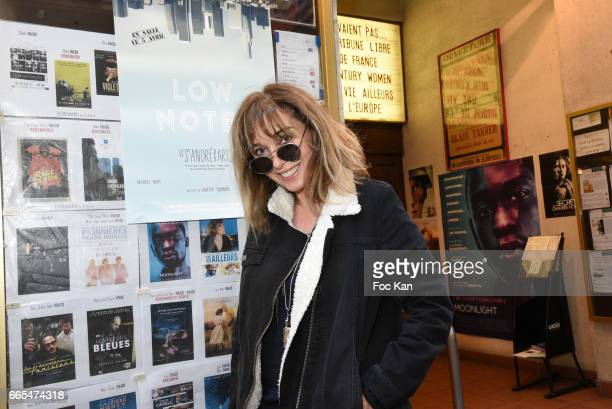 Writer Anna Veronique El Baze attends 'Low Notes' Film Screening at Cinema Saint Andre des Arts on April 6 2017 in Paris France