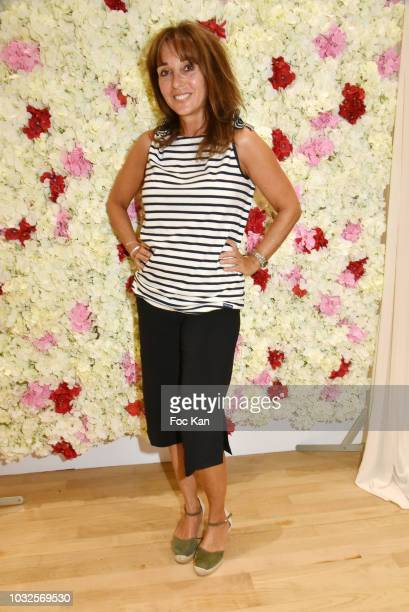 Writer Anna Veronique El Baze attends the EFashion Awards at Salon des Miroirs on September 12 2018 in Paris France