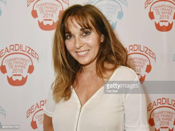 Writer Anna Veronique El Baze attensd the Championnat de France de Barbe 2018 hosted by Beardilizer at Le Loft de la Bellevilloise on June 9 2018 in...