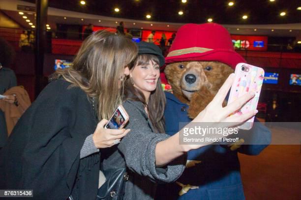 Writer AnnaVeronique El Baze and Actress Frederique Bel attend 'Paddington 2' Paris Premiere at L'Olympia on November 19 2017 in Paris France