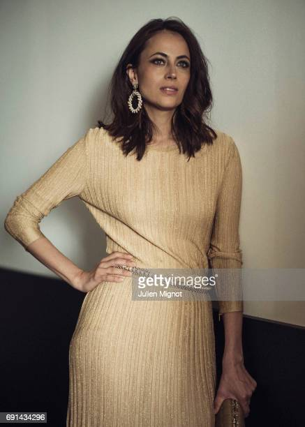 Writer Anne Berest is photographed for Grazia magazine on May 21, 2017 in Cannes, France.
