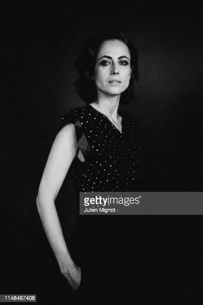 Writer Anne Berest poses for a portrait on May 18 2019 in Cannes France