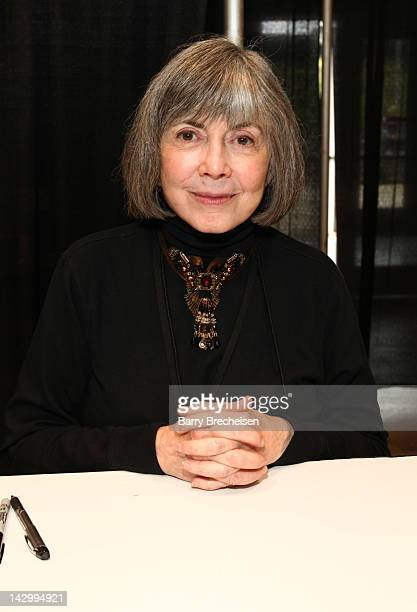 Writer Anne Rice attends the 2012 Chicago Comic and Entertainment Expo at McCormick Place on April 15 2012 in Chicago Illinois