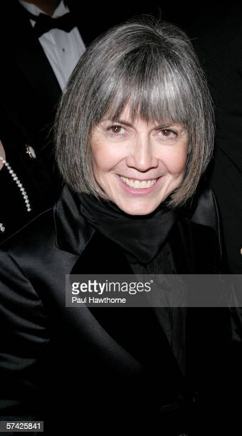 Writer Anne Rice attends the opening night of 'Lestat' after party at the Time Warner Center on April 25 2006 in New York City