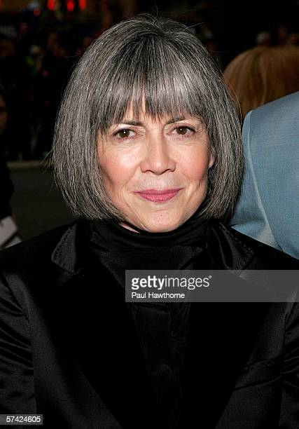Writer Anne Rice attends the opening night of 'Lestat' at The Palace Theatre April 25 2006 in New York City